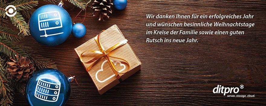 ditpro-News: ditpro wünscht frohe Weihnachten und einen guten Start ...